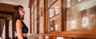 Das Museum des Pharmalabors Foletto