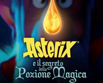 CINEMA: ASTERIX E IL SEGRETO DELLA POZIONE MAGICA