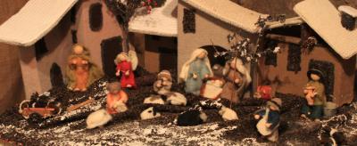 Weihnachtskrippen am Ledrosee