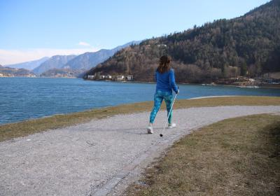 NORDIC WALKING AROUND LAKE LEDRO