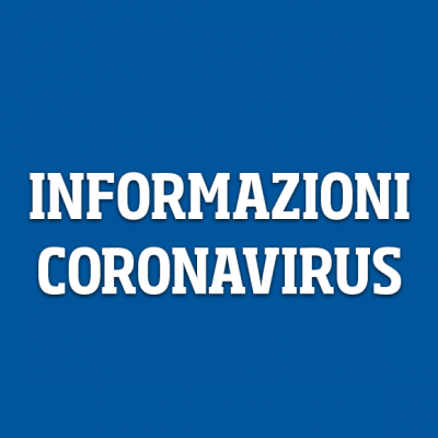 Informations on Coronavirus in Trentino