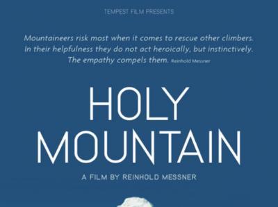 CINEMA: HOLY MOUNTAIN