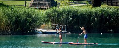 Water Sports on Lake Ledro