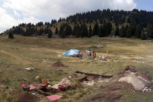 RESULTS OF THE EXCAVATION IN TREMALZO