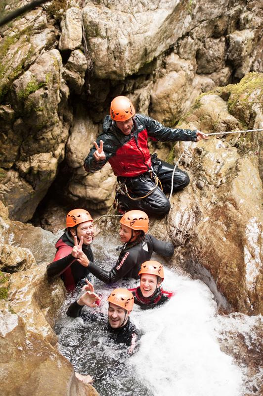 CANYONING PARTY