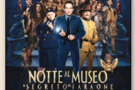 CINEMA:  NOTTE AL MUSEO IL SEGRETO DEL FARAONE