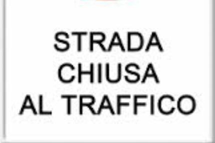 CHIUSURA STRADA PER GIRO DEL TRENTINO