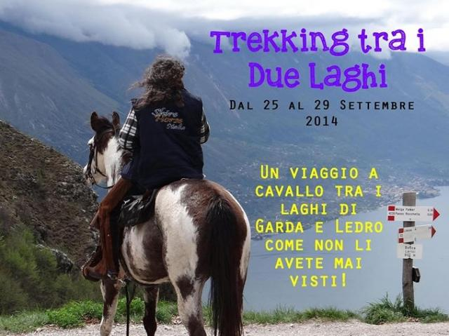 HORSE TREKKING BETWEEN 2 LAKES